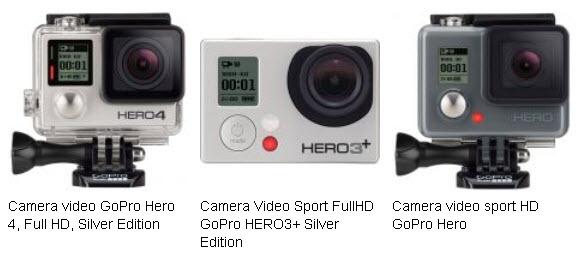 Camera Video Sport FullHD GoPro HERO