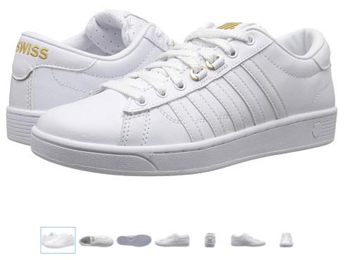 Pantofi sport albi barbatesti marca K-Swiss Hoke 50th preturi si pareri