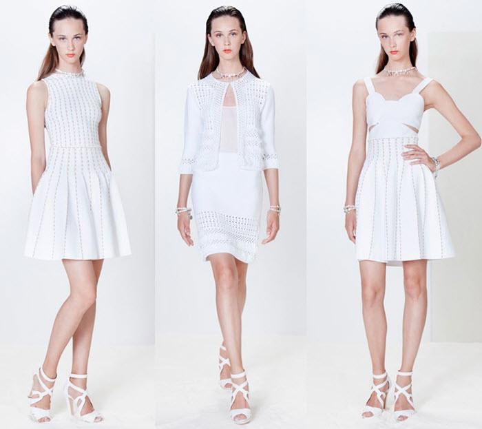 haine de vara albe moderne Blugirl
