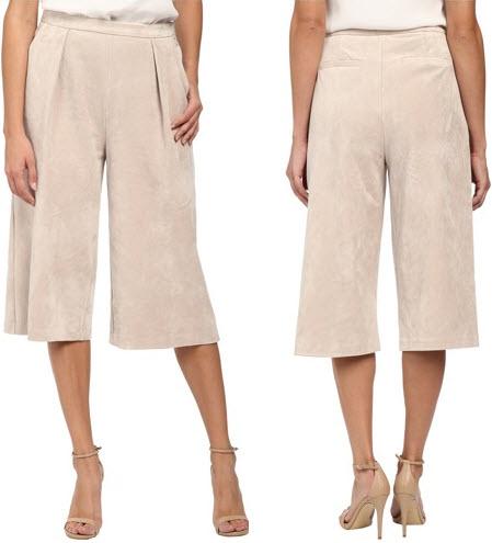 fusta pantaloni crem deschis