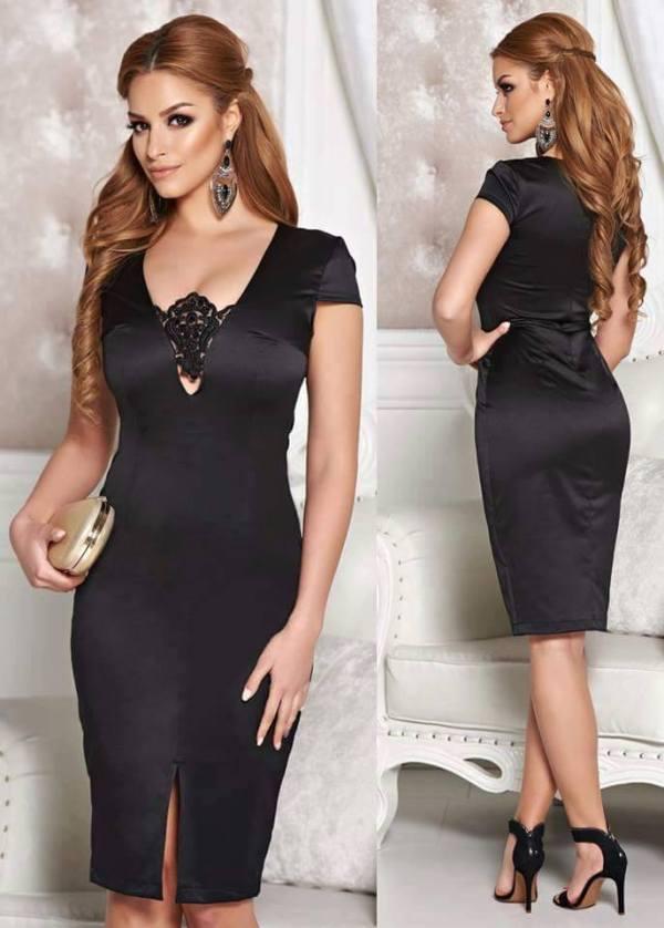 Rochie StarShinerS Captivating Elegancy Black