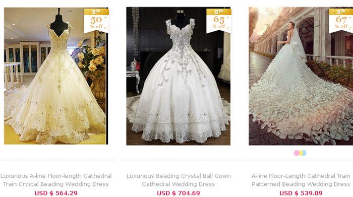 cele mai frumoase rochii de mireasa vandute pe tbdress