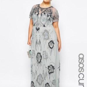 rochii masuri mari lungi pentru seara cu paiete si margele