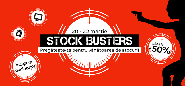 emag stock busters martie 2018