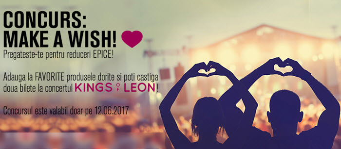 fashion days concurs make a wish 12 iunie 2017