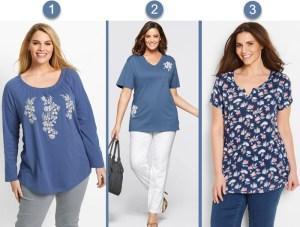 bluze elegante de vara in nunate de albastru