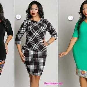 Rochii Dy Fashion masuri mari pentru servici tinute casual si elegante