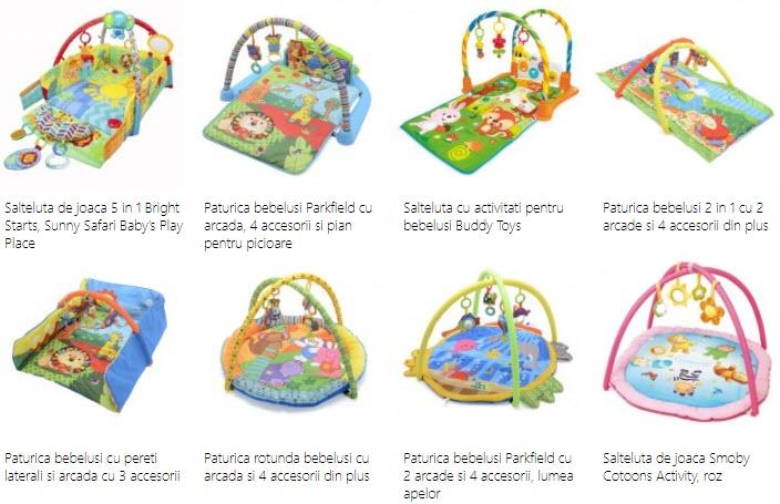 reduceri centre de activitati pentru bebelusi