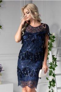 Modele de Rochii Bleumarin de Seara Casual Birou online