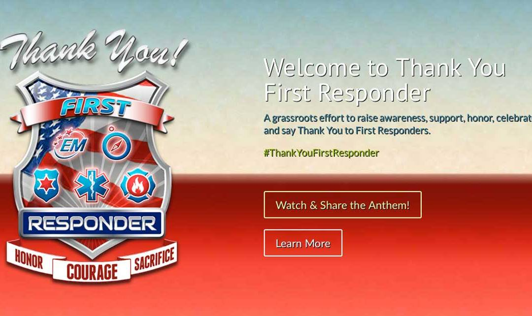 Supporters Request Resources to Thank First Responders