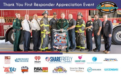 [Press Release] 2nd Annual First Responder Appreciation Event