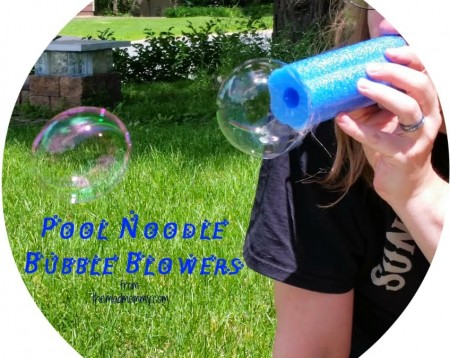 Pool Noodle Bubble Blowers