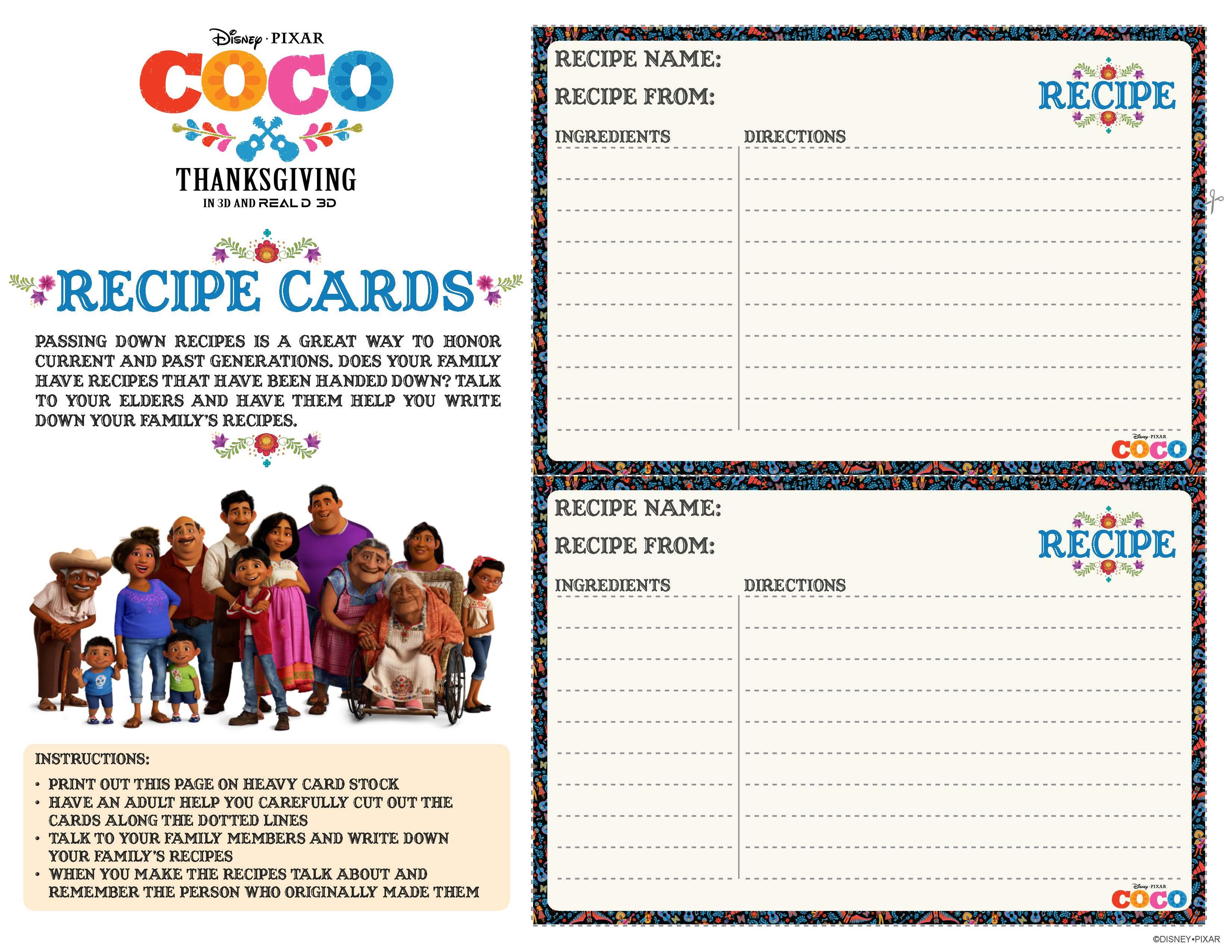 Disney Pixar S Coco Kids Activity Sheets