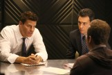 """BONES: L-R: David Boreanaz and John Boyd in the """"The Donor in the Drink"""" episode of BONES airing Thursday, Oct. 15 (8:00-9:00 PM ET/PT) on FOX. ©2015 Fox Broadcasting Co. Cr: Patrick McElhenneyFOX"""