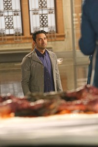"BONES: Guest star Pej Vahdat l in the second part of the two-hour ""The Cowboy in the Contest/The Doom in the Boom"" fall finale episode of BONES airing Thursday, Dec. 10 (8:00-10:00 PM ET/PT) on FOX. ©2015 Fox Broadcasting Co. Cr: Patrick McElhenney/FOX"