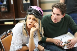 """IT'S ALWAYS SUNNY IN PHILADELPHIA -- """"Frank Falls Out The Window"""" -- Episode 1102 (Airs Wednesday, January 13, 10:00 pm e/p) Pictured: Kaitlin Olson as Dee, Glenn Howerton as Dennis. CR: Patrick McElhenney/FX"""