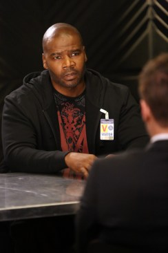 """BONES: Guest star Marcuis Harris in the Spring premiere """"The Death In The Defense"""" episode of BONES airing Thursday, April 14 (8:00-9:00 PM ET/PT) on FOX. ©2016 Fox Broadcasting Co. Cr: Patrick McElhenney/FOX"""