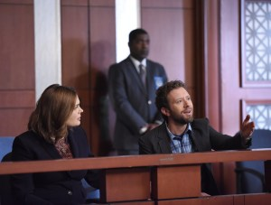 "BONES:  L-R:  Emily Deschanel and TJ Thyne in the ""The Final Chapter:  The Day In The Life"" episode of BONES airing Tuesday, March 21 (9:00-10:00 PM ET/PT) on FOX.  ©2017 Fox Broadcasting Co.  Cr:  Ray Mickshaw/FOX"