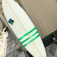 (SOLD!)$260 - Rhino Surfboards by Randy Simmons - 6'2""