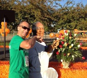 """Two """"fun-guys"""" celebrating at Tulip Time"""