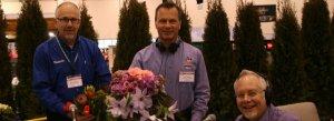 My friend J Schwanke on the Flowerland show