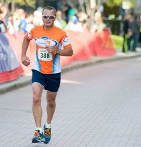 Running with Team World Vision to raise awareness