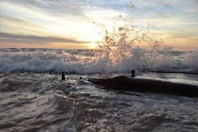Waves work is relentless