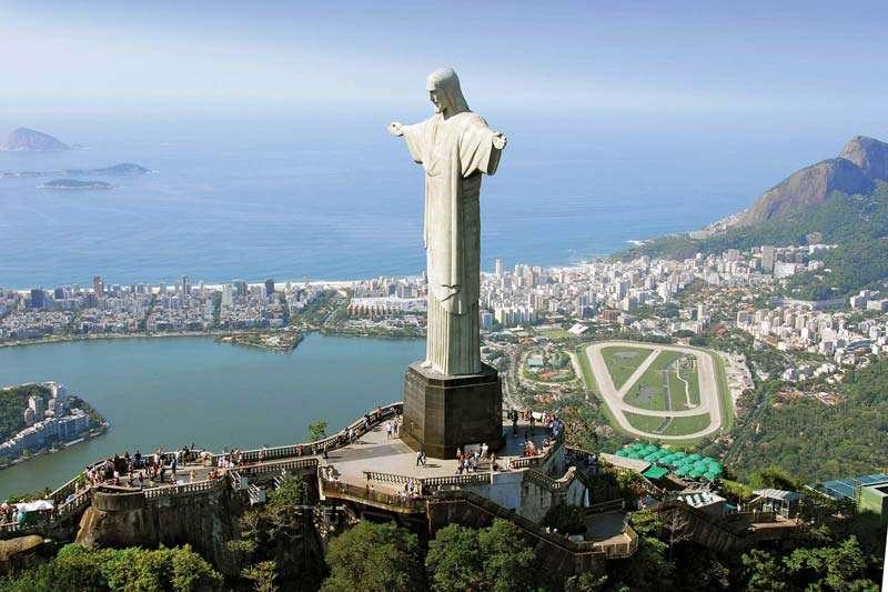 تمثال المسيح المخلص عجائب الدنيا السبع