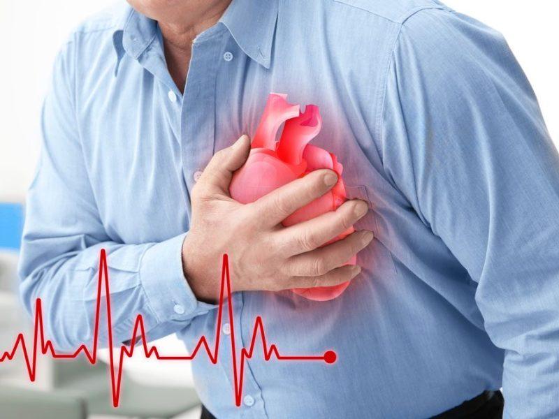 أعراض النوبة القلبية