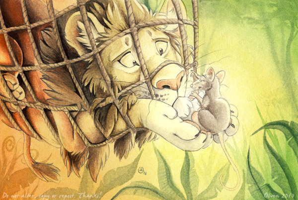 Myth Management Me | Mouse and Lion | Tharoor Associates