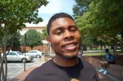 """38. Adrian Gray, 22, Journalism - """"I think racism still exist because not only has racism now become not a black and white thing it has become a black thing. We are becoming racist against our own kind. And that's proving that we as a people will never go as far as we need to."""""""