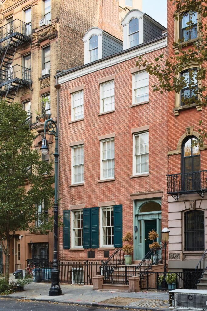 Limewash Painted Red Brick Homes That Will Charm You
