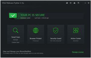 Bản quyền miễn phí IObit Malware Fighter 3 Pro