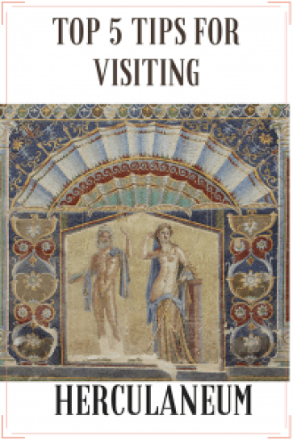 Want the top 5 tips for visiting Herculaneum? Of course you do; Pompeii's sister site might be smaller, but it's one of the best-preserved depictions of Roman life you'll ever see. Travel back in time, and visit somewhere truly special. https://thatanxioustraveller.com #travel #italy #herculaneum #romans #history