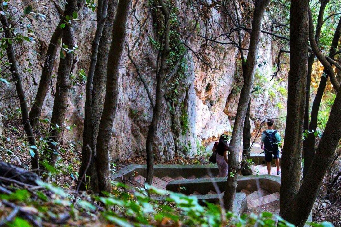 steep steps capri