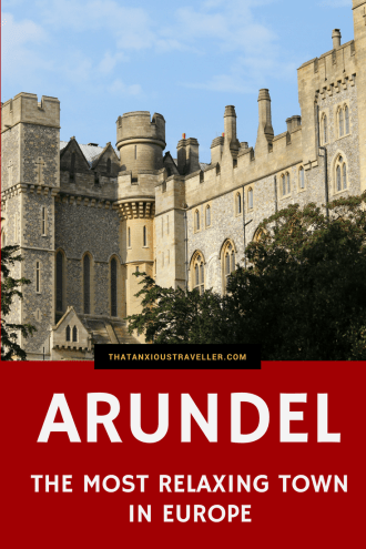 The small town of Arundel in England has been voted the most mindful destination in Europe - is it as relaxing as they claim? Is it worth a visit? As a local, I give you tips on a must-visit town that I've been visiting for my entire life. https://thatanxioustraveller.com #travel #england #arundel #mindful #wellness