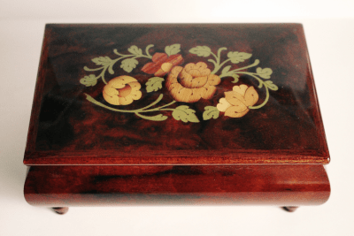 sorrento wood inlaid box
