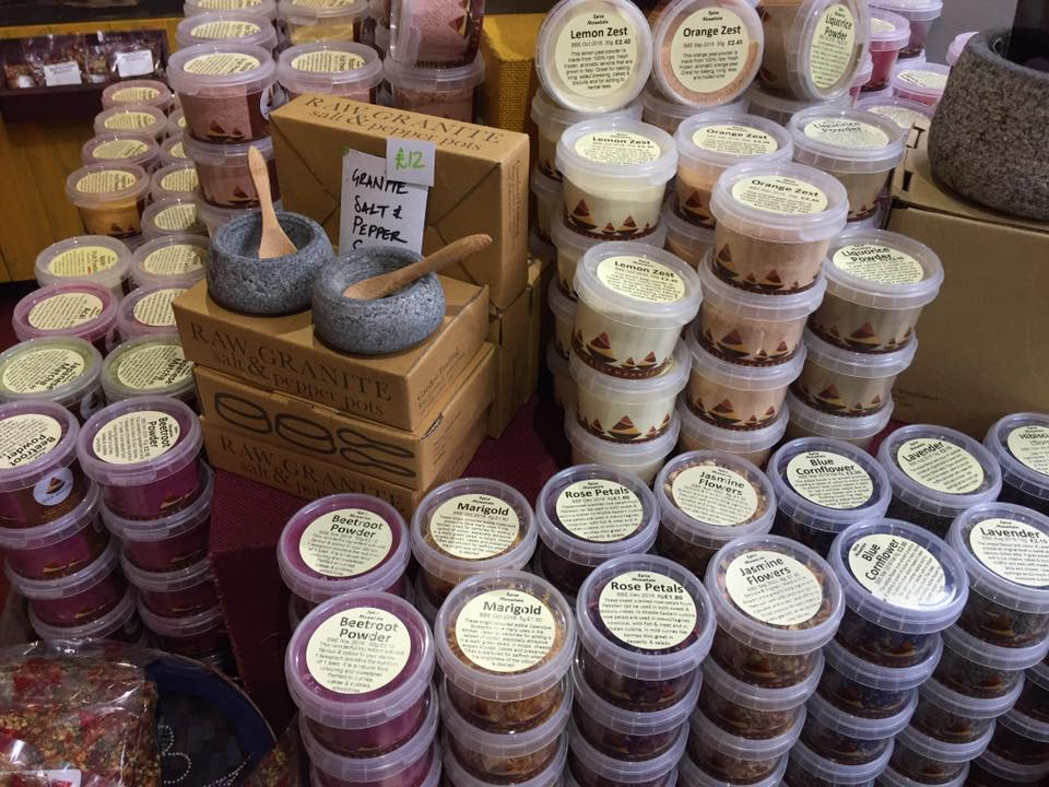 spice mountain borough market london