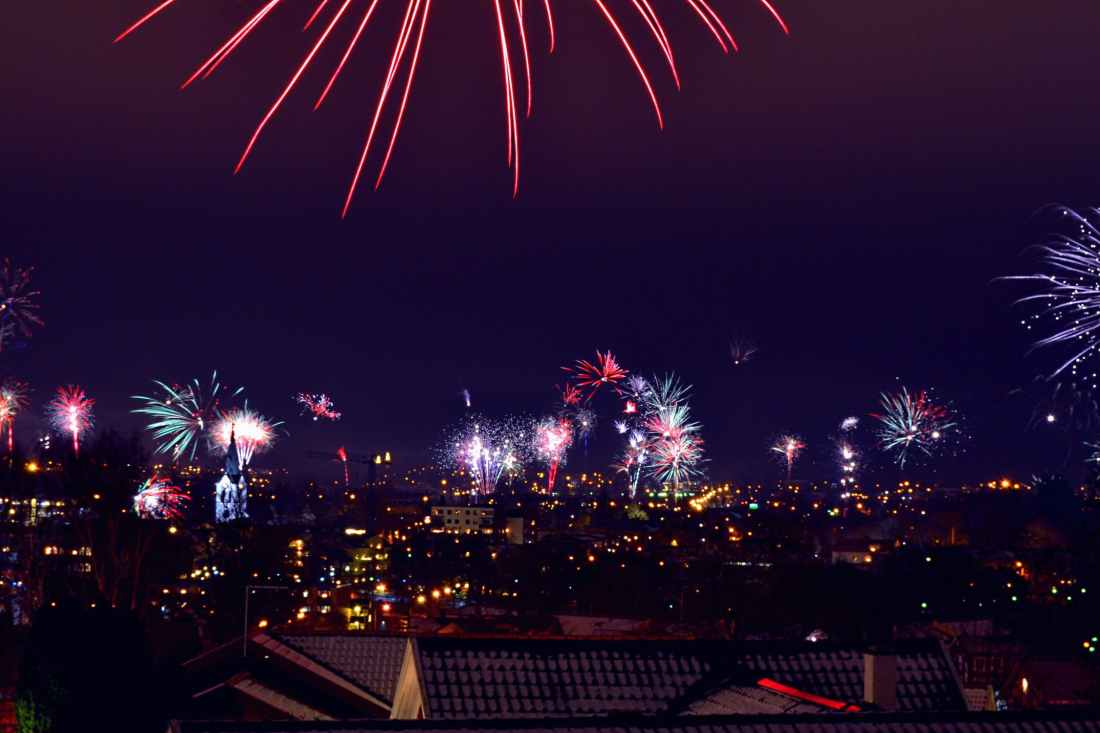 Fireworks explode over rooftops - 23 Things You Should Know Before Visiting The UK