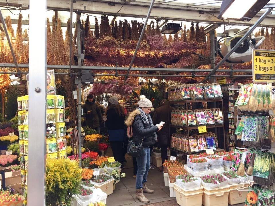 One Day In Amsterdam - Bloemenmarkt