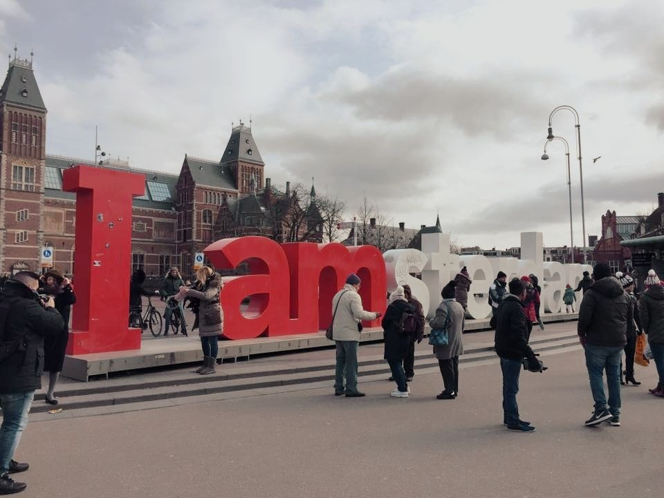 One Day In Amsterdam - Iamsterdam Sign