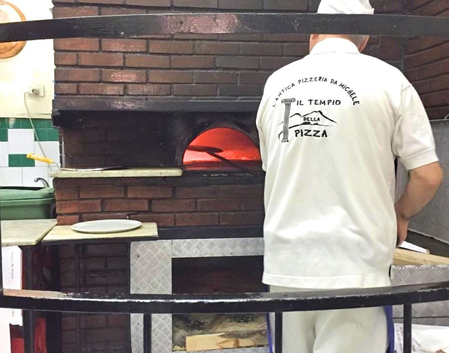 Best Pizza In Naples - L'Antica Pizzeria Da Michele - Pizza Oven