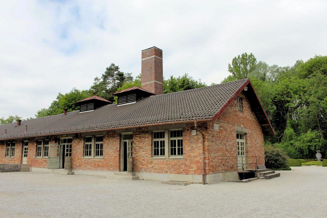 Dachau Crematorium. Visiting Dachau Concentration Camp Memorial Site https://thatanxioustraveller.com #europe #travel #munich #dachau #history