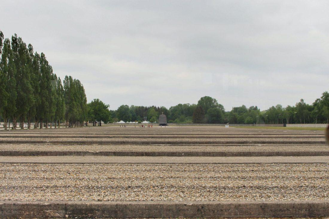 Dachau Demolished Barracks. Visiting Dachau Concentration Camp Memorial Site https://thatanxioustraveller.com #europe #travel #munich #dachau #history