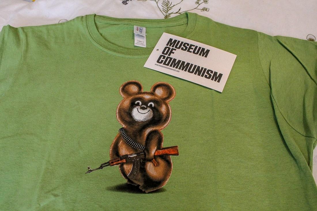 Museum of Communism Misha t-shirt