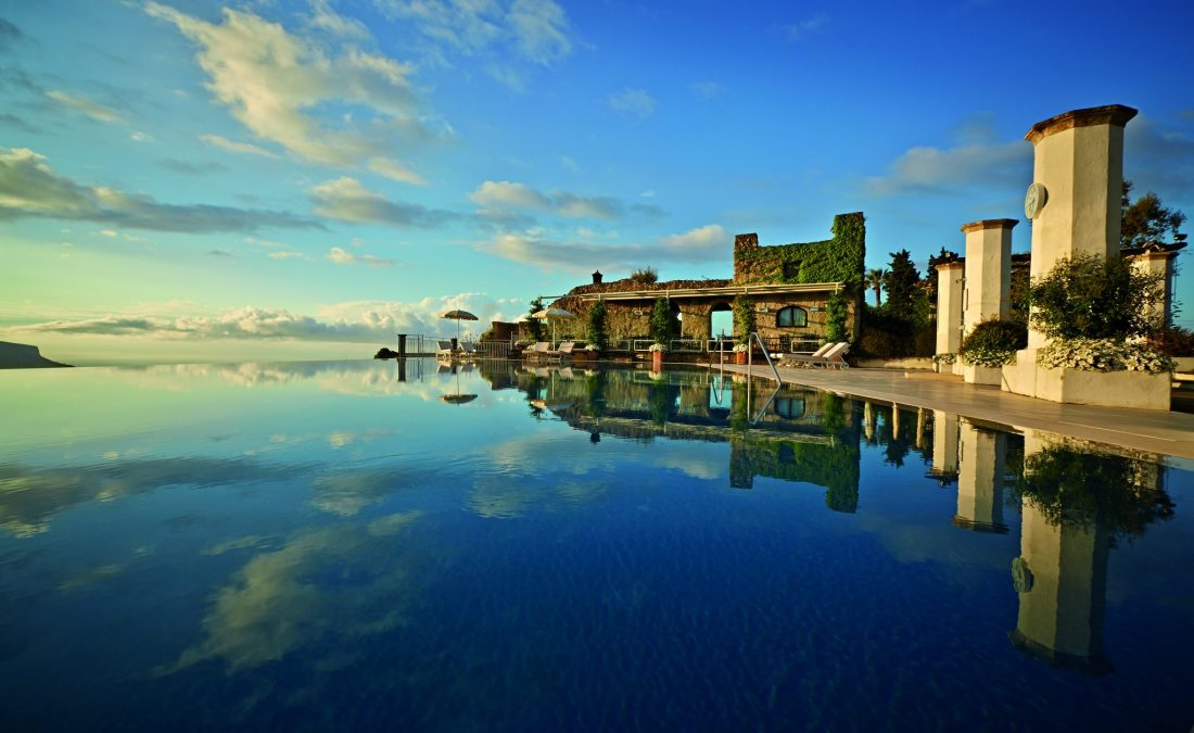 An infinity pool at the Belmond Hotel Caruso Ravello - The best hotels on the Amalfi Coast for all budgets