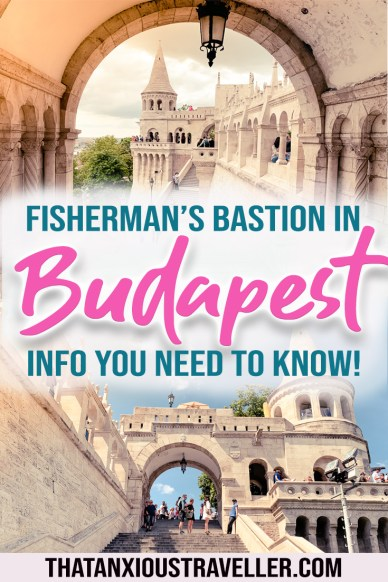 Looking for info on the most famous square in Budapest? Fisherman's Bastion is the perfect spot for wedding photos, or just Instagram photography! Find out Fisherman's Bastion history, entrance fee, how to get to Fisherman's Bastion, and how to see Buda Castle and Matthias Church at the same time! #budapest #hungary #europe