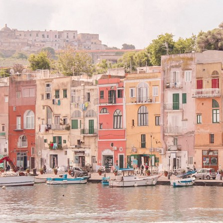 The pastel houses of Procida are definitely one of the most instagrammable spots on the Amalfi Coast!