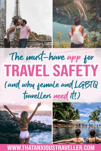 Learn about the travel safety app that'll turn your phone into one of your must-have gadgets! TripIt's new feature contains tips and hacks that you need if you're a woman of LGBTQ - it could even save your life. Whether you're in Europe or International, on iPhone or Android, you need this! #travel #safety #app #tips #hacks #gadgets #female #lgbtq