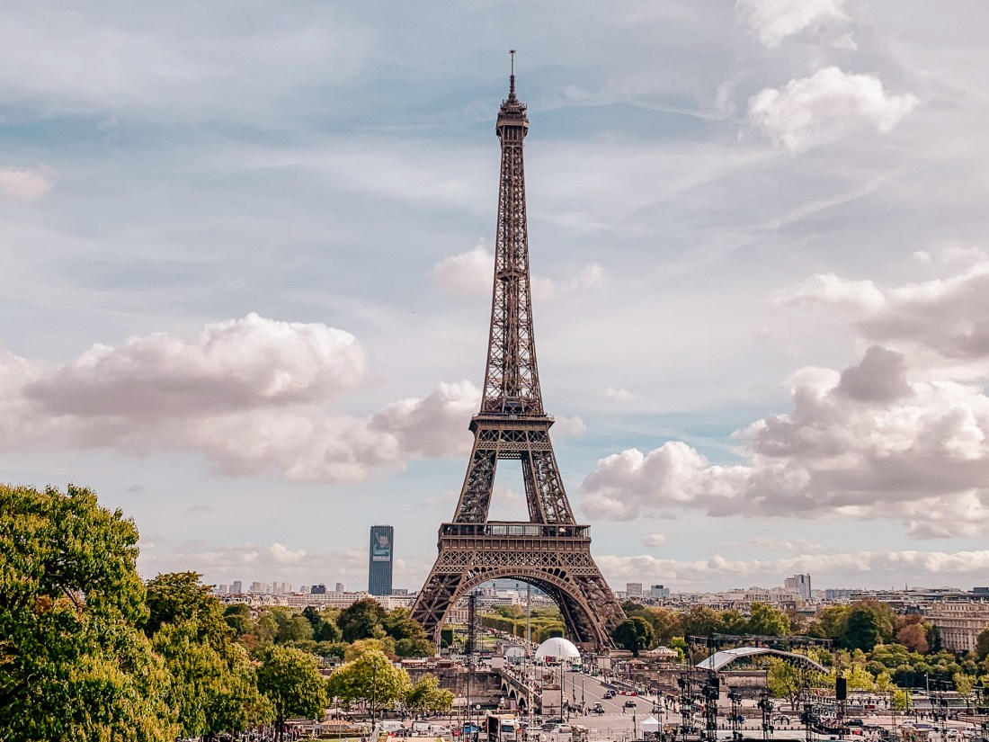 The Eiffel Tower in Paris. France is the home to some of the best city breaks in Europe, and is perfect for slow travel.